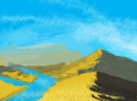 Golden Plains by wesai