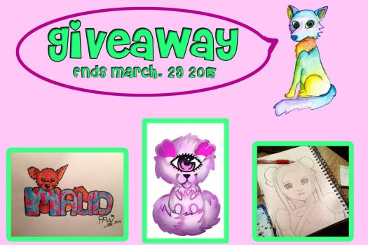Giveaway at FACEBOOK! by Livuletta