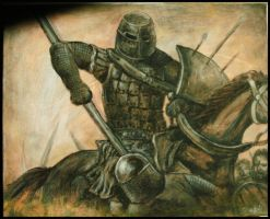 The Knight in Dirty Armour by WithinItAll