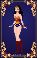 Mini-Contest: 80's Cartoon, Wonder Woman by Arimus79