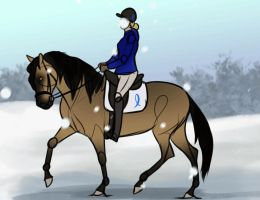 CCA: Rouge Dressage (raffle entry) by s1088