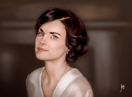 Speedpaint: Lady Cora by JuneJenssen