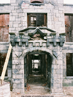 Smallpox Hospital entrance by seeker-of-revelation