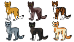 Adoptables! OPEN by SparksHumbleAbode