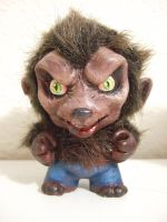 Classic Monster Munny: Wolfie by BananaFairy59