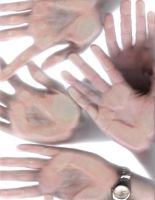 DA HANDS COLLAGE by Princess-Nyree