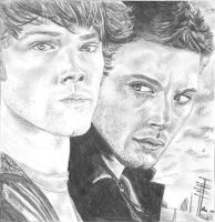 Sam and Dean by 05emort123