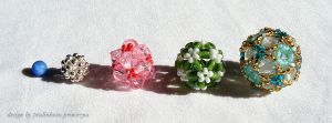 Evolution of the beaded ball by pralinkova-princezna