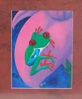 Rainette Frog for Dad by Alouf-Art