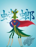 Super Mantis by Nanaki-angel23