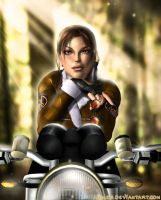 Tomb Raider II remake by Aida-Art
