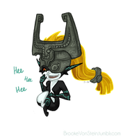 .:Art Trade:. Midna by BrookeVonStein