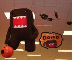 Domo-kun Halloween 001. by GermanCityGirl