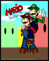 Super Mario Brothers by Martyna-Chan