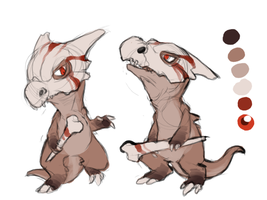 PMDA - Rohan the Cubone by Daffupanda