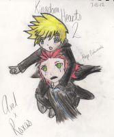 Axel x Roxas by paigelovesanime