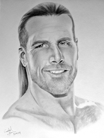 Shawn Michaels by Crystal-Cat
