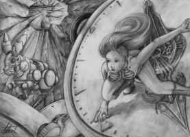 Alice easter chase by Asthenot