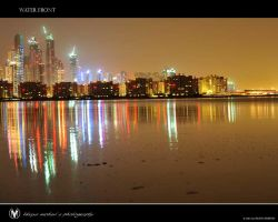 Dubai water front by vinayan