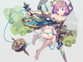 Puzzle and Dragons Prophetic Norn, Skuld by nnnnoooo007