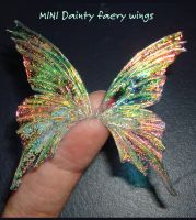 Mini dainty Faery wings by S0WIL0