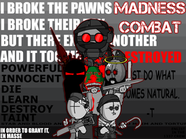 Madness Combat Quote Wallpaper by EpicBlargman