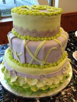Lavender and Lime Sweet Sixteen by simplysweets