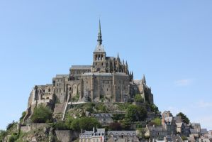 mont st michel by Flyboy008