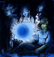 The Blue Light by hermitchild