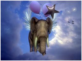 When Elephants Fly by GypsyH