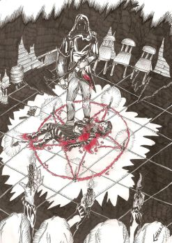 Satanic thing by Ghouleh