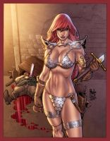 Red Sonja Colors by assisleite