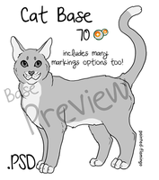 For Sale- Cat Base with extras by painted-flamingo