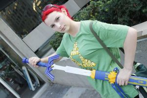 Master Sword by ArilaInsanityCosplay
