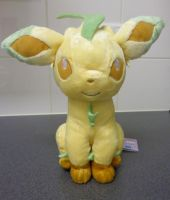 DX Leafeon plush from ''I Love Eievui'' series by Gallade007