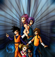 WDBZ Kids - Dragon Warrior Saga by shuu-bunni