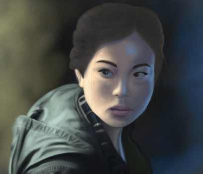 Alex - Fear the Walking Dead by HarlequinnWaffle