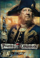 PotC Geoffrey Rush Sign by valachhim
