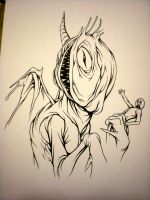 purple people eater by Cerpin23