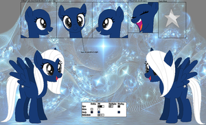 Wishing Star ~Official Character Ref~ by Winter-Wondermare