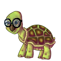 Harry Potter turtle. by JubliantTroo