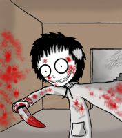 Jeff the killer by Pumkinkiller777