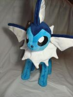A wild Vaporeon appeared by PlanetPlush
