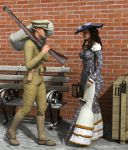Off to War 1914 by stopsigndrawer81