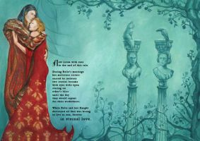 'The Beauty and the Beast' - Illustrated Book by FrancescaBaerald