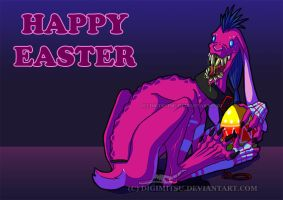 Hasen: Happy Easter by Digimitsu