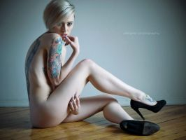Alysha Nett in Heels by Scherbius