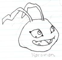 Koromon by CodeNameToad