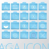 Aga Icons by erosle