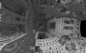Apologies to Escher WP by fission1